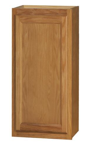 """Kitchen Kompact Chadwood 18"""" x 36"""" Oak Wall Cabinet at ..."""