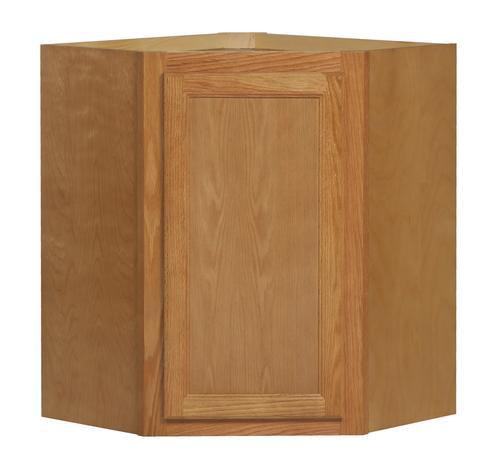 """Kitchen Kompact Chadwood 24"""" X 30"""" Oak Diagonal Wall"""