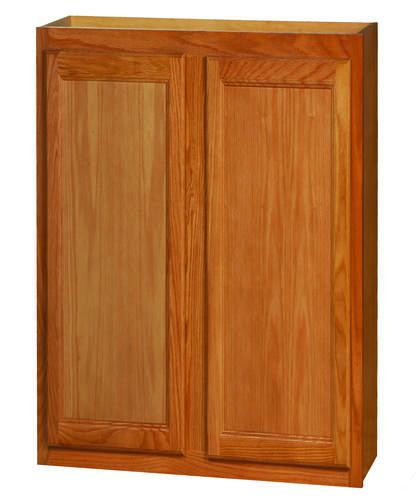 Kitchen Kompact Chadwood 30 X 36 Oak Wall Cabinet At