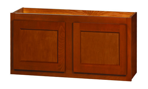 Kitchen kompact glenwood 30 x 15 beech wall cabinet at for Beech kitchen wall cupboards