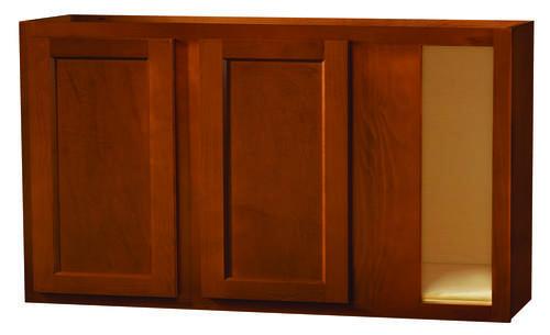 Kitchen kompact glenwood 48 x 30 beech blind corner wall for Beech kitchen wall cupboards