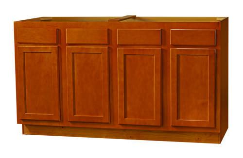 kitchen kompact bretwood 60 maple sink base cabinet at menards. Black Bedroom Furniture Sets. Home Design Ideas