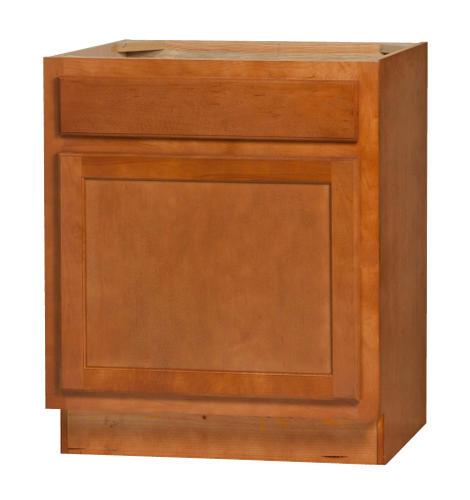 "Kitchen Kompact Bretwood V24S 24"" X 21"" Maple Vanity Base"