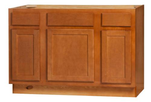 Kitchen Kompact Bretwood V48S 48 X 21 Maple Vanity Base Cabinet A