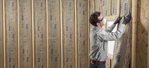 Guardian R 13 Kraft Faced Fiberglass Insulation Roll 15 Quot X