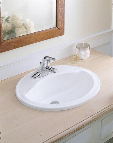 Sterling Sanibel Self-Rimming Bathroom Sink At Menards®