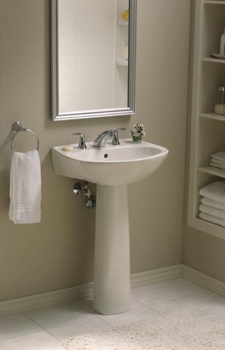 Sterling Sacramento 21 X 18 X 33 Pedestal Bathroom