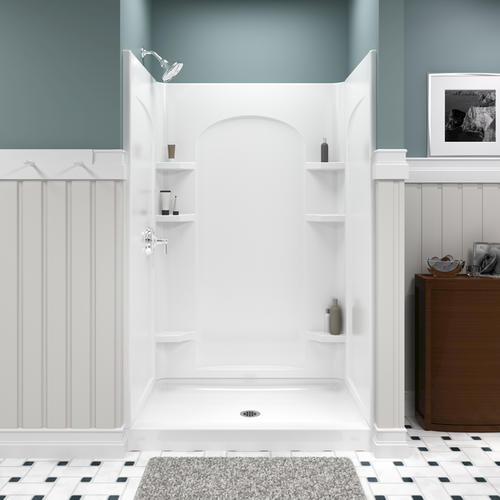 Sterling Ensemble 48 Quot Shower Curve Shower Wall At Menards 174