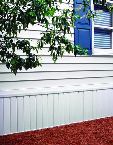 Solid Mobile Home Skirting at Menards®