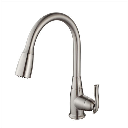 answer, single lever pull out kitchen faucet effectiveness the fan