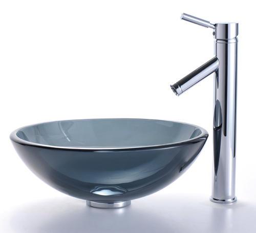 Kraus Sheven Single Lever Vessel Bathroom Faucet At Menards