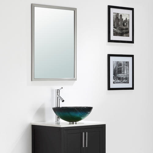 Kraus Nei Glass Vessel Bathroom Sink at Menards?