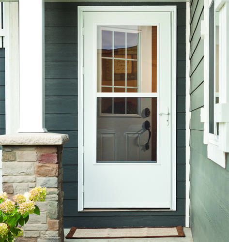 Menards storm doors home design for Mastercraft storm doors