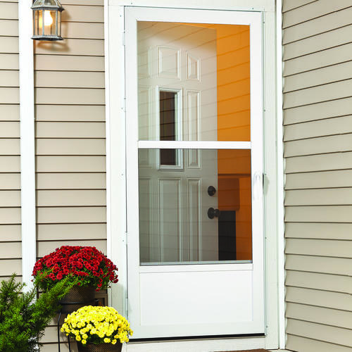 Larson Preston Mid View Storm And Screen Door At Menards 174