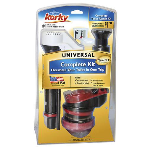 korky universal toilet repair kit at menards