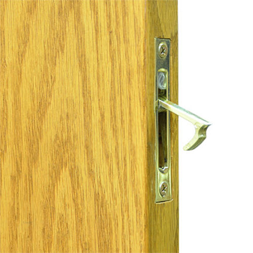 Johnson Hardware Pocket Door Brass Edge Pull at Menards