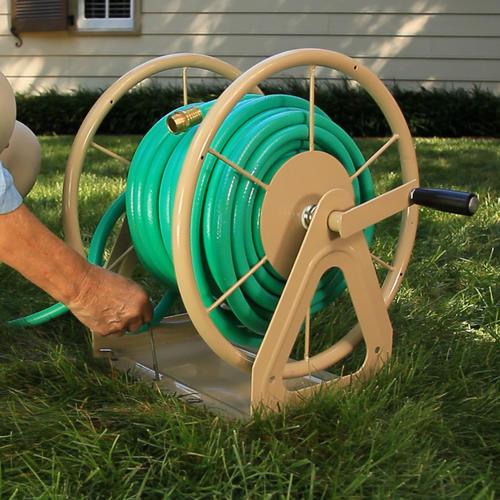 heavy duty wall mount hose reel at menards