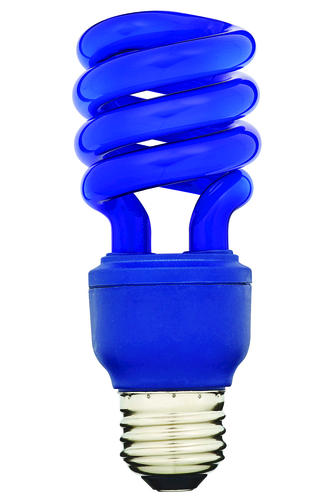 home luminaire 13 watt mini cfl blue light bulb at menards. Black Bedroom Furniture Sets. Home Design Ideas