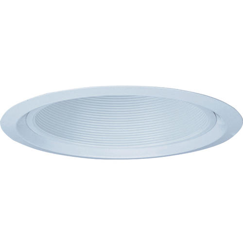 Recessed Lighting Menards : Quot white open baffle shallow top recessed trim at