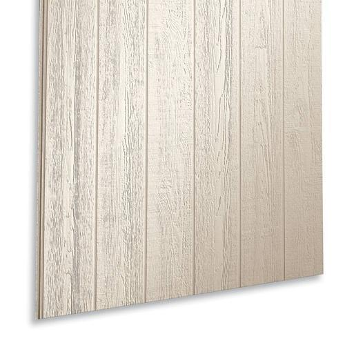 Lp smartside 7 16 x 4 39 x 8 39 grooved 8 o c fiber panel for Engineered wood siding panels