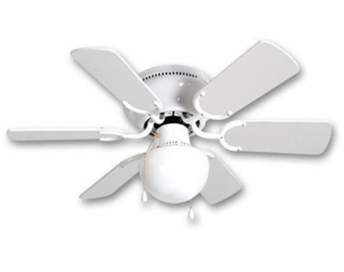 turn of the century hebe 30in white ceiling fan at menards. Black Bedroom Furniture Sets. Home Design Ideas