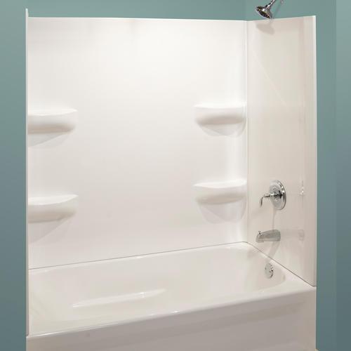 Lyons Elite Corner Shelf 3 Piece Bathtub Wall Kit At Menards 174