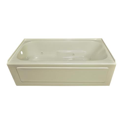 Lyons elite 60 x 30 x 19 left hand drain above floor for Lyons whirlpool tub