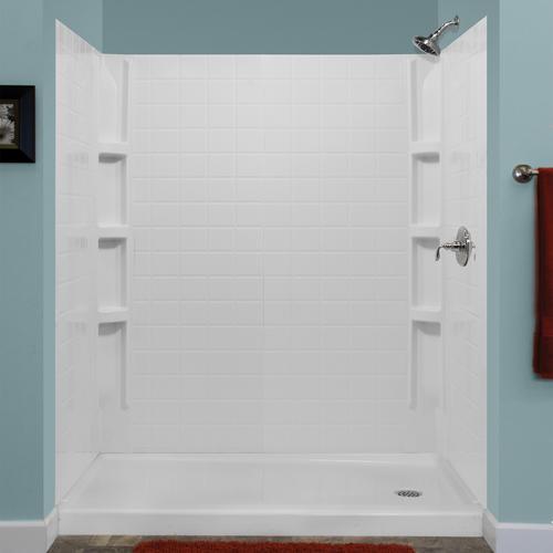 Lyons Monaco Premium Tile Sectional Shower Wall Kit At Menards