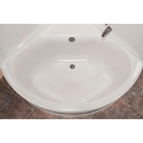 lyons sea wave v corner soaking bathtub at menards