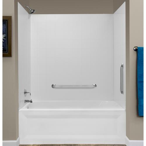 lyons tough tile sectional bathtub wall kit at menards