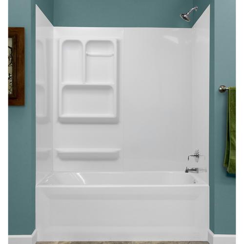 lyons versatile sectional bathtub wall kit at menards 174