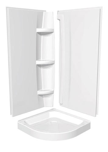 Maax 174 40 Quot Neo Round Acrylic Shower Base At Menards 174