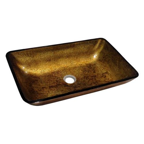 Magick Woods 22 1 4 Golden Filigree Vessel Sink At Menards