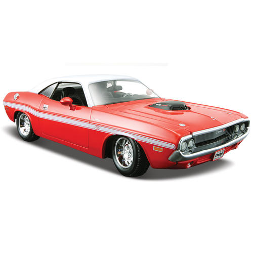 maisto 1 24 scale die cast 1970 dodge challenger r t coupe. Black Bedroom Furniture Sets. Home Design Ideas