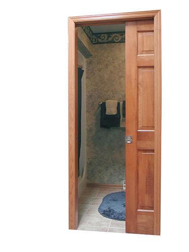 Wood pocket door frame 32 x 80 x 4 9 16 wall at menards for 16 x 80 door