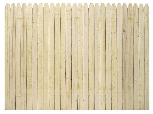 Stockade Natural Wood Fence ... - Menards Fencing On Sale Pictures To Pin On Pinterest - PinsDaddy