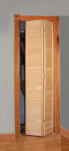 Designer S Image 30 Quot X 80 Quot Pine Unfinished Full Louvered 2
