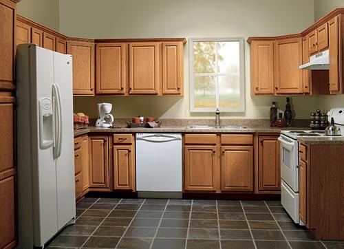 Value Choice 18 Huron Oak Standard 2 Door Tall Utility Cabinet At Menards