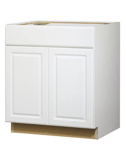 "Value Choice 30"" Ontario White Standard 2-Door/1-Drawer Base Cabinet At Menards®"