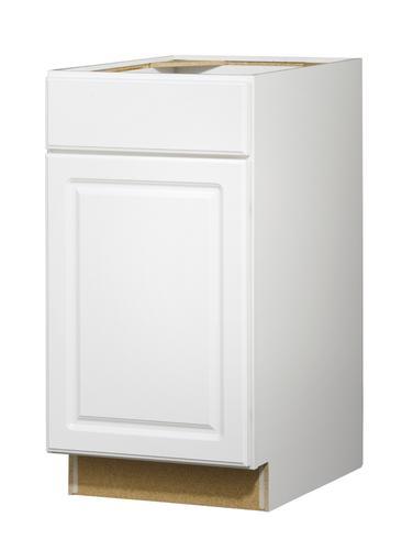 Value choice 18 ontario white standard 1 door drawer base - Kitchen cabinet doors menards ...