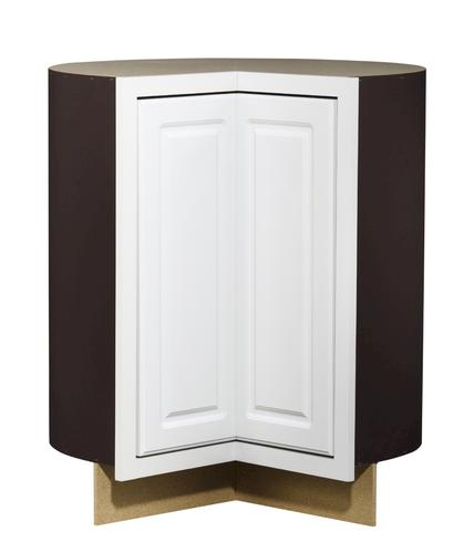 Value choice 36 ontario white easy reach corner base cabinet at menards - Menards white kitchen cabinets ...