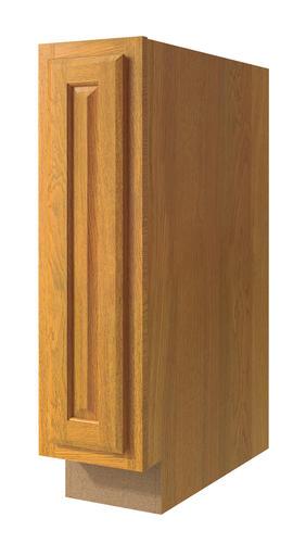 "Value Choice 9"" Huron Oak Standard 1-Door Base Cabinet at ..."