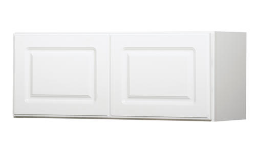 Value choice 30 x 12 ontario white over an appliance wall cabinet at menards - Menards white kitchen cabinets ...