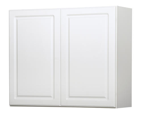 Value choice 36 ontario white standard height wall cabinet at menards - Menards white kitchen cabinets ...