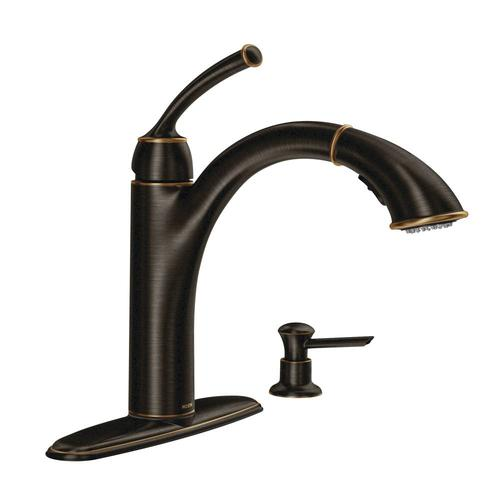 Moen Sullivan Single Handle Pullout Kitchen Faucet
