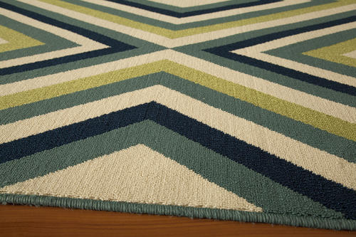 """Designers Image Beach ber Collection Area Rug 7 10"""" x 10"""