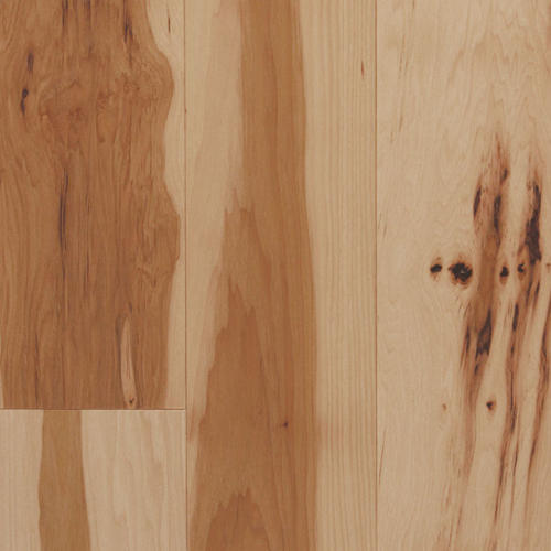 Hickory solid hardwood flooring 3 4 x 3 24 for Hardwood floors menards