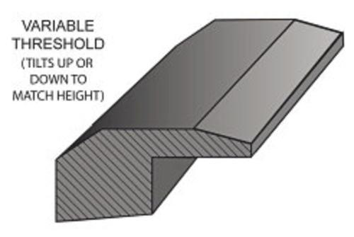 Hardwood Flooring Threshold Prefinished 3 4 X 78 At Menards