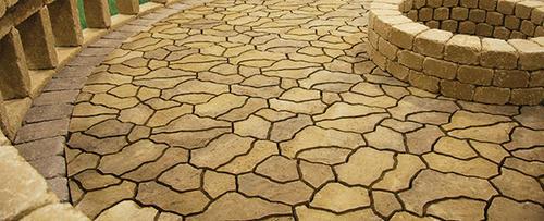 menards patio pavers granite landscape rocks landscaping