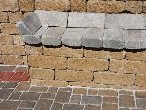 Retaining Wall Blocks From Menards : Quot belgian wall block at menards?